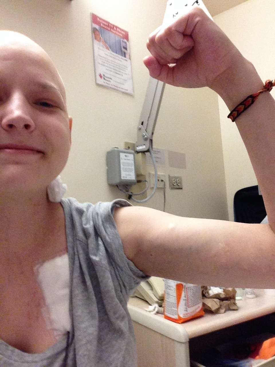 During chemo treatments